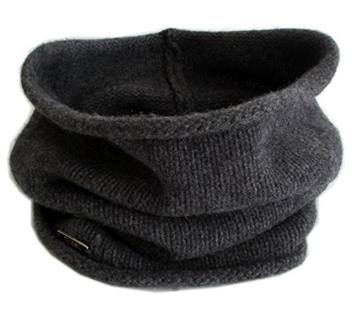 Frost Hats Cashmere Neck Warmer CSH-891 Charcoal
