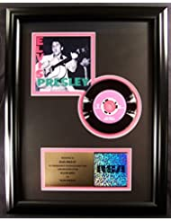 Elvis Presley 1956 Debut CD Platinum Non RIAA Record Award RCA Records