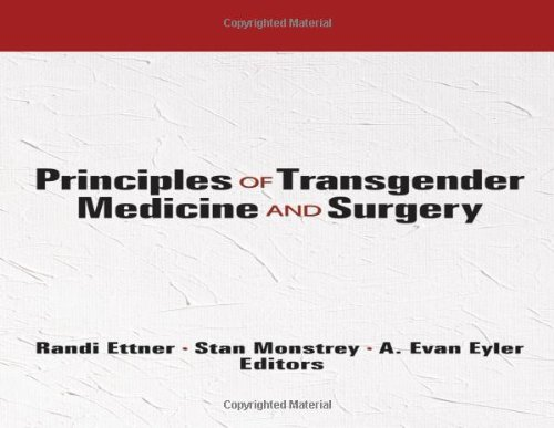 Principles of Transgender Medicine and Surgery (Human Sexuality (Hardcover))