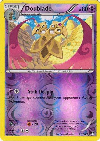Pokemon - Doublade (61/122) - XY BREAKPoint - Reverse Holo