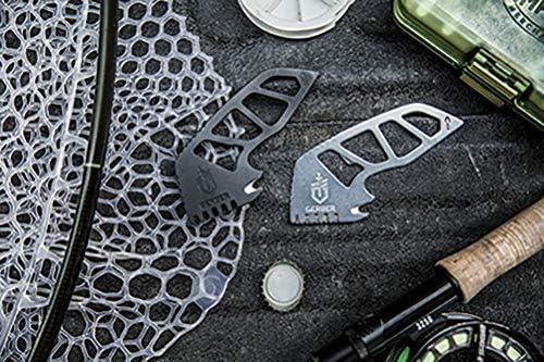 Stahl Gutsy 30-001422 L/änge: 12,3 cm Silber Gerber Angelwerkzeug