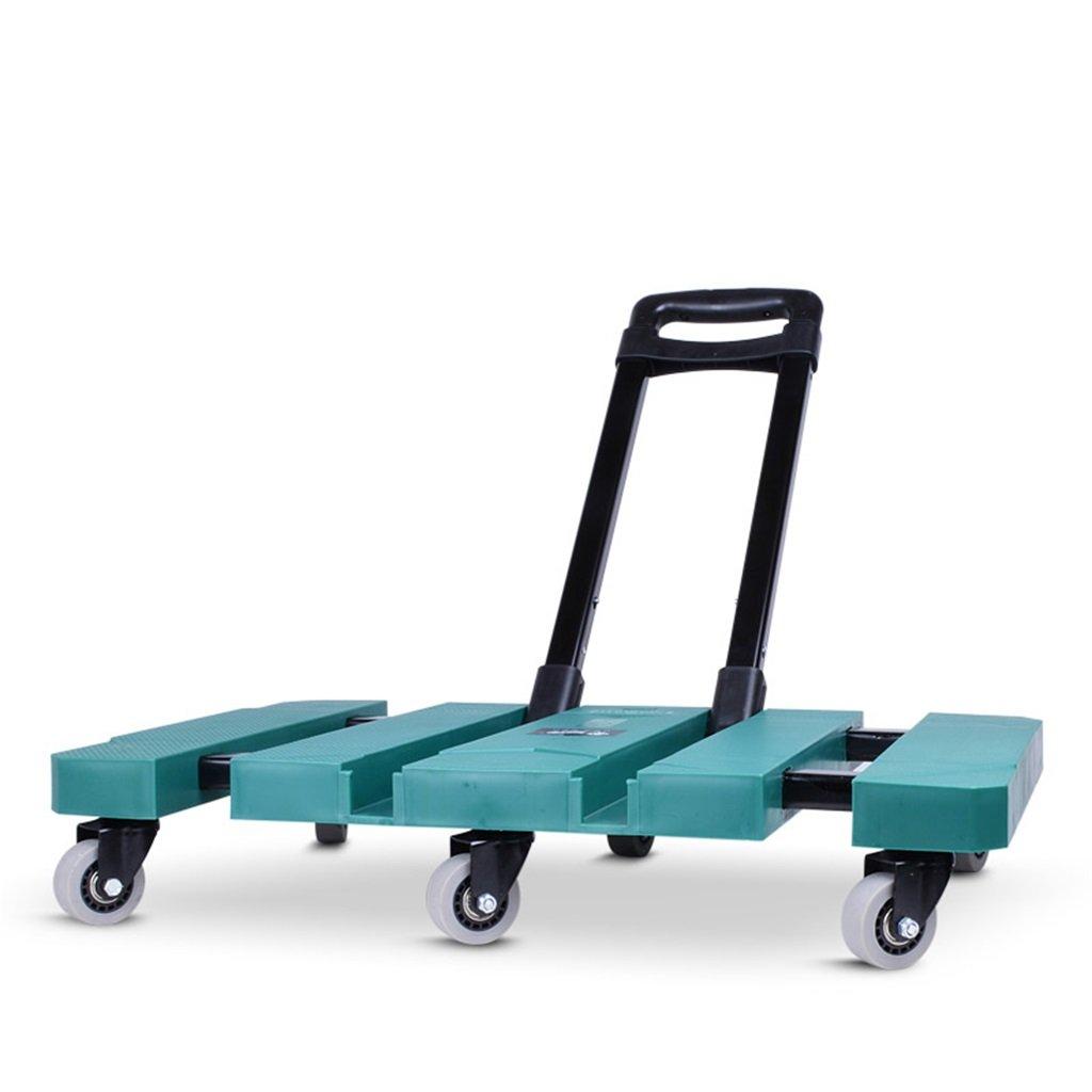 ショッピングカート 折りたたみ式トロリーポータブルショッピングカート軽量カートホームPull Cart Handling折りたたみ式高齢者用トロリー6丸型ユニバーサルホイール (色 : B)  B B07FKP3GWQ
