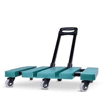 675537edc6f2 Amazon.com : YX XY Fold Trolley Portable Shopping Cart Lightweight ...