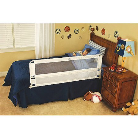 Regalo Hide Away 54-Inch Extra Long Safety Bed Rail, Features Rail that Slides Under Mattress from Regalo
