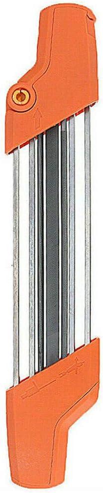 Afilador de cadena motosierra manual profesional 4/4.8mm,afilador motosierra afilado cadena motosierra portatil rápido afilar