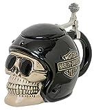Harley-Davidson Skull Rider B&S Stein, Sculpted Ceramic, 32 oz. HDL-18608