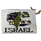Icon Case Pouch Coin Purses Tapestry Prayer With Israel Map 5.7