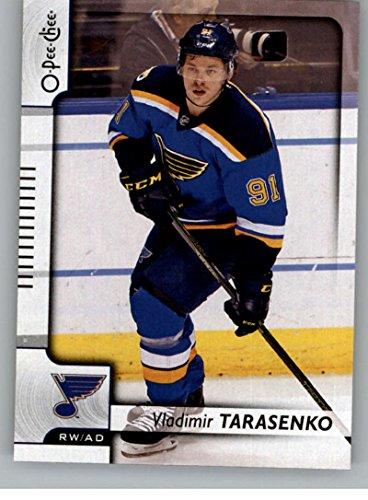 Louis Blues Team Set (2017-18 O-Pee-Chee #65 Vladimir Tarasenko St. Louis Blues)