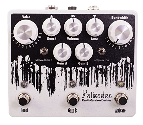 EarthQuaker Devices Palisades Mega Ulitmate Overdrive Guitar Effects Pedal