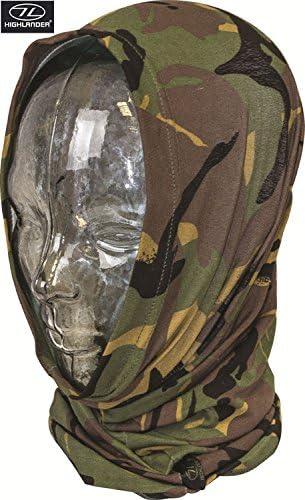 Highlander Tactical Military Headover Army Gaiter Hiking Balaclava Hat Scarf Snood Combat DPM Camo
