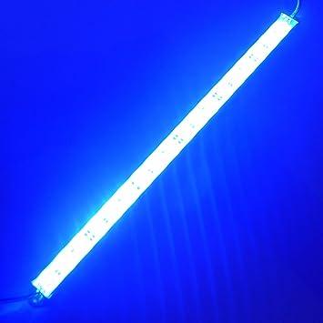 Amazon ledenet 12 18leds 5050 blue aquarium led strip ledenet 12quot 18leds 5050 blue aquarium led strip waterproof aluminum lighting 12v dc mozeypictures Images