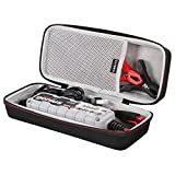 LTGEM Hard Travel Protective Carrying Case for NOCO Genius G3500 6V/12V 3.5-Amp Smart Battery Charger and Maintainer