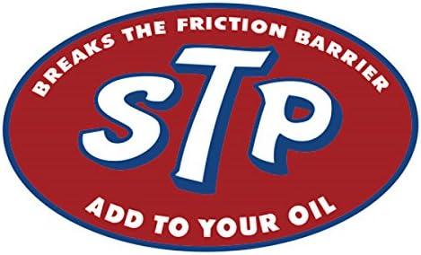 STP ロゴ 楕円形ステッカー