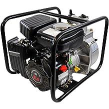 Shop4Omni 4-Stroke 123 GPM 1-1/2 Inch 2.3 HP Gas Powered Portable Water Pump