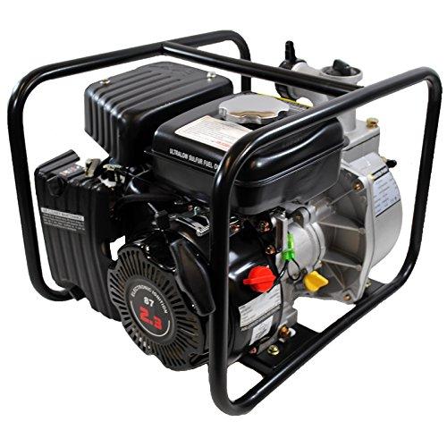 Shop4Omni 4-Stroke 123 GPM 1-1/2 Inch 2.3 HP Gas Powered Portable Water Pump (Water Gas Engine Power Pump)