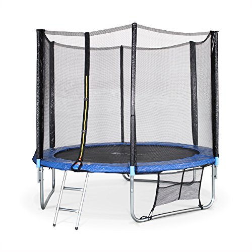 alice 39 s garden pluton trampoline rond avec b che de protection chelle filet de s curit. Black Bedroom Furniture Sets. Home Design Ideas