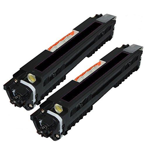 2 Pack Ink4work© CF350A (130A) Black Compatible Toner Cartridge Combo For HP Color LaserJet Pro MFP M176n, M177fw Printer (2 x Black)
