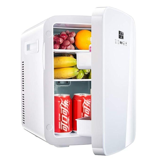 FQY-BX Mini Nevera 20L Refrigerador De Coche Blanco, Viaje Al Aire ...