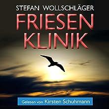 Friesenklinik: Ostfriesen-Krimi (Diederike Dirks ermittelt, Volume 2) Hörbuch von Stefan Wollschläger Gesprochen von: Kirsten Schumann