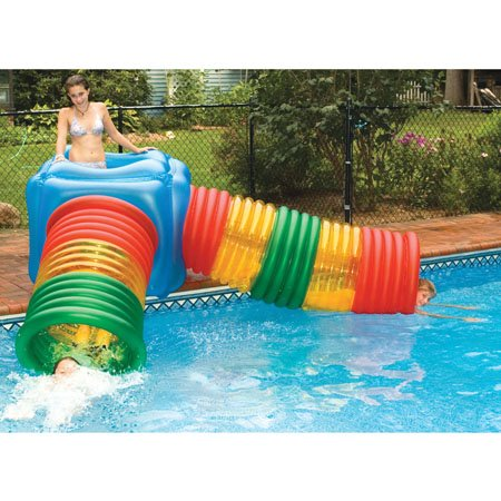 Water Slide Tubes - Swimline Vinyl Habitat Maze with Tubes