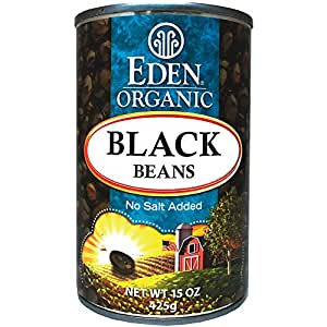 Amazon Com Eden Organic Black Beans No Salt Added 15