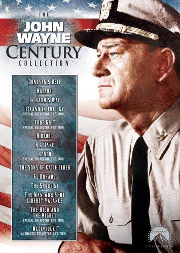 The John Wayne Century Collection (Big Jake / Donovan's Reef / El Dorado / Hatari! / Hondo / In Harm's Way / Island in the Sky / McLintock! / Rio Lobo / The High and the Mighty / True Grit / The Shootist / and more)