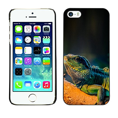 [ For APPLE IPHONE 5 / 5S ][ Xtreme-Cover ][ Coque Rigide Case Cover ] - Majestic Mustang Horse