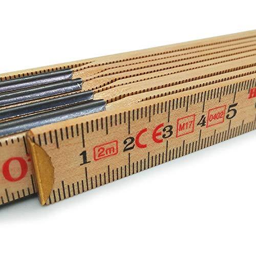 Metrica 23300 M/ètre bois naturel 2 m