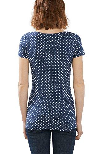 ESPRIT 017ee1k013, Camiseta para Mujer Multicolor (Ink)