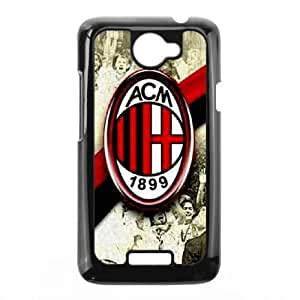 HTC One X cell phone cases Black AC Milan fashion phone cases URKL470241