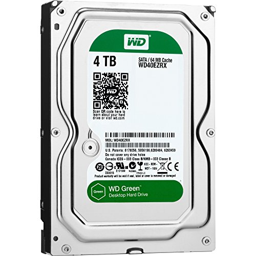 Western Digital WD40EZRX Green 5400RPM product image