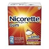 Nicorette Nicotine Gum in Surge Flavored Stop