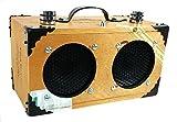 ''The Dually'' Cigar Box Guitar Amplifier: Dual-Speaker amplifier for Guitars, Cigar Box Guitars & More