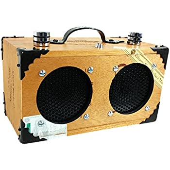 Amazon com: C  B  Gitty Cigar Box Amplifier: Vintage-style