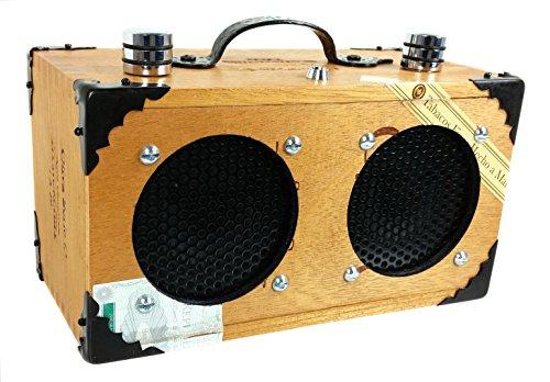 ''The Dually'' Cigar Box Guitar Amplifier: Dual-Speaker amplifier for Guitars, Cigar Box Guitars & More by C. B. Gitty