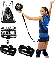 Volleyball Training Equipment Aid - Practice Your Serving, Setting & Spiking with Ease, Great Solo Serve &