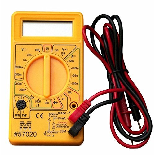 Morris Products 57020 Digital Multimeter by Morris Products