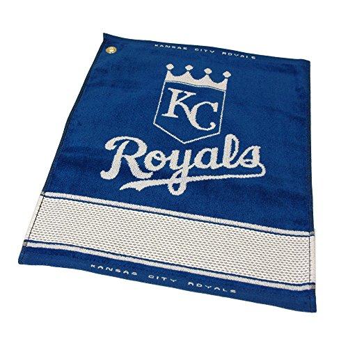 MLB Kansas City Royals Jacquard Woven Golf Towel