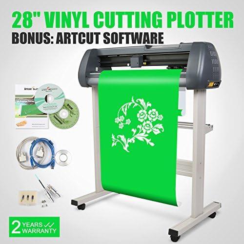 PVRO Plotter de corte máquina de cortar de vinilo Vinyl Plotter Cutting Plotter Cutter negro 720mm: Amazon.es: Informática