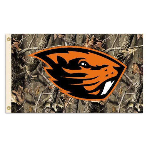 Bsi Products Collegiate Oregon State Realtree Camo 3' X 5' Flag by BSI