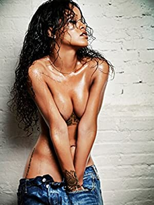Rihanna 24X36 Poster Rare Print #TTG757825