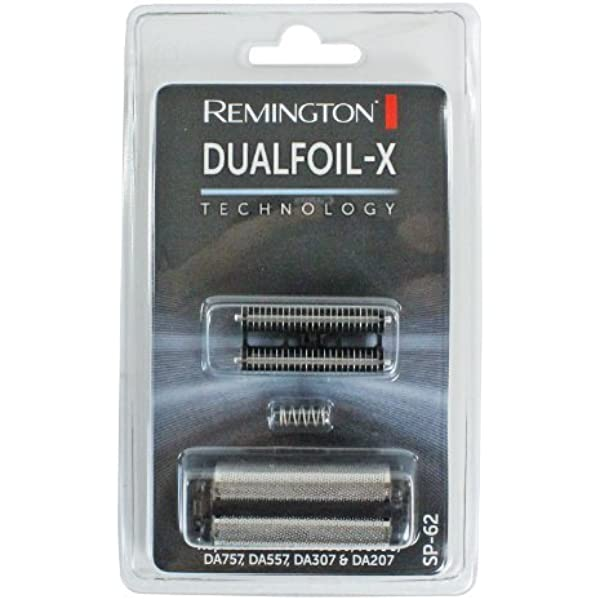 Remington Dualfoil X Shaver Foil and Cutting Head Pack by ...