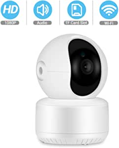 1080P FHD Home Security IP Camera Cloud P2P WiFi Camera Audio Record 360 Degrees Baby Monitor HD IR Night Vision Camera