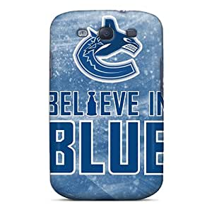 CharlesPoirier Samsung Galaxy S3 Durable Hard Cell-phone Cases Custom Beautiful Vancouver Canucks Pictures [SXt15066FbzP]