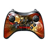 Merry Christmas Ornaments Design Print Image Wii U Pro Controller Vinyl Decal Sticker Skin by Trendy Accessories