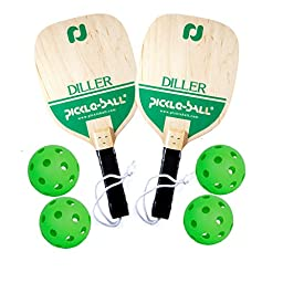 Diller Pickleball Bundle ( Set Includes 2 Paddles & 4 Balls )