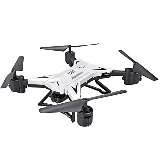 BingWS Remoto Quadcopter Drone Aviones pequeños Cámara aérea HD ...