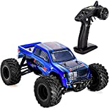 Distianert 1:12 RC Car 4WD High Speed Off Road Remote 45km/h 2.4Ghz Radio Controlled Monster Truck Buggy Racing Toy Electric Vehicle Rock Crawler, with LED Night Vision