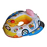 HuntGold Baby Kids Safe Swim Ring Tube Pool Float Car Seat Swimming Raft Inflatable Boats