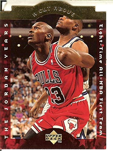 - 1996-97 Upper Deck Collector's Choice - A Cut Above: The Jordan Years #CA3 Michael Jordan Bulls